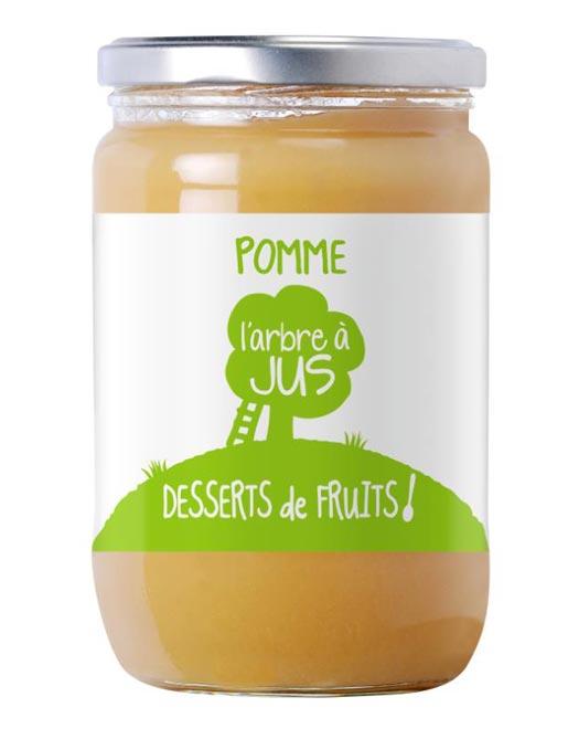 Compote Pomme - Boutique ferme de la boisette