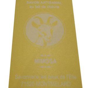 Savon mimosa Ferme de la Boisette
