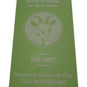 Savon thé vert Ferme de la Boisette