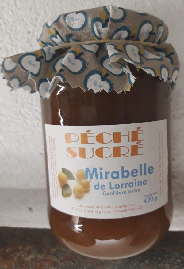Confiture Mirabelle Ferme Boisette Vente fromage