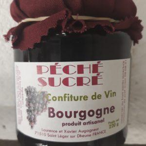 Confiture de vin Ferme Boisette Vente fromage